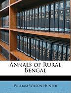 Annals of Rural Bengal - Hunter, William Wilson