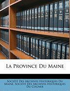 La Province Du Maine