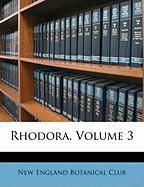 Rhodora, Volume 3