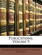 Publications, Volume 9