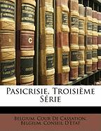 Pasicrisie Troisime Serie