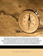 Rplique de L'Agent Des Tats Unis La Matire Nouvelle Introduite de La Part D'Agent de Sa Majest Britannique Les 19 Et 26 Aot Sur La Demande Du Tribunal - Tribunal, Geneva Arbitration