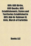 889: List of State Leaders in 889,