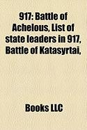 917: Battle of Achelous, List of State Leaders in 917, Battle of Katasyrtai,