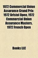 1972 Commercial Union Assurance Grand Prix: 1972 Bristol Open, 1972 Commercial Union Assurance Masters, 1972 French Open