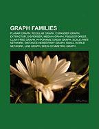 Graph Families: Planar Graph, Regular Graph, Expander Graph, Extractor, Disperser, Median Graph, Pseudoforest, Claw-Free Graph