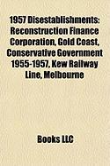 1957 Disestablishments: Gold Coast