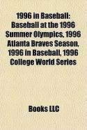 1996 in Baseball: Baseball at the 1996 Summer Olympics