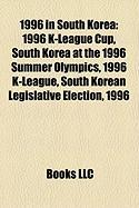1996 in South Korea: 1996 K-League Cup