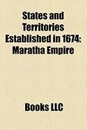 States and Territories Established in 1674: Maratha Empire