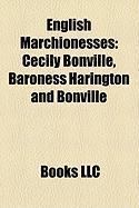 English Marchionesses: Cecily Bonville, Baroness Harington and Bonville