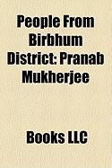 People from Birbhum District: Pranab Mukherjee