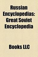 Russian Encyclopedias: Great Soviet Encyclopedia, Russian Wikipedia, Shorter Jewish Encyclopedia, Encyclopedia of Domestic Animation