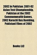 2002 in Pakistan: 2001-02 Asian Test Championship