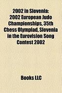 2002 in Slovenia: 2002 European Judo Championships