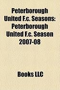 Peterborough United F.C. Seasons: Peterborough United F.C. Season 2007-08