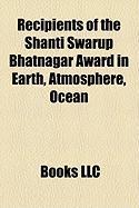 Recipients of the Shanti Swarup Bhatnagar Award in Earth, Atmosphere, Ocean