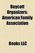 Boycott Organizers: American Family Association