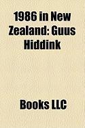 1986 in New Zealand: Guus Hiddink