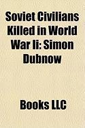 Soviet Civilians Killed in World War II: Simon Dubnow