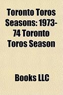 Toronto Toros Seasons: 1973-74 Toronto Toros Season
