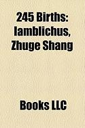 245 Births: Iamblichus
