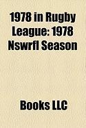 1978 in Rugby League: 1978 Nswrfl Season