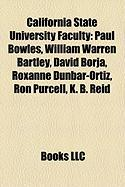 California State University Faculty: Paul Bowles