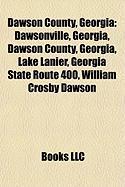 Dawson County, Georgia: Lake Lanier