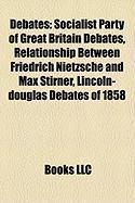 Debates: Socialist Party of Great Britain Debates