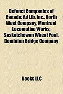 Defunct Companies of Canada: North West Company
