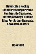Defunct Ice Hockey Teams: Pittsburgh Pirates