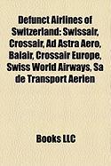 Defunct Airlines of Switzerland: Swissair