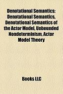 Denotational Semantics: Immanuel Kant
