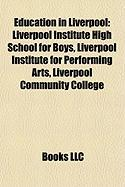 Education in Liverpool: Liverpool Institute High School for Boys