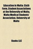 Education in Malta: Sixth Form, Student Associations at the University of Malta, Malta Medical Students' Association, University of Malta