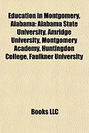 Education in Montgomery, Alabama: Alabama State University