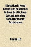 Education in Nova Scotia: List of Schools in Nova Scotia