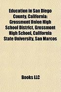 Education in San Diego County, California: Grossmont Union High School District