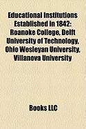 Educational Institutions Established in 1842: Ohio Wesleyan University