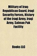 Military of Iraq: Iraqi Security Forces