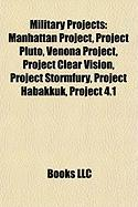 Military Projects: Manhattan Project