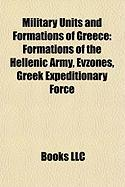 Military Units and Formations of Greece: Formations of the Hellenic Army