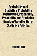 Probability and Statistics: List of Statistics Articles
