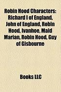 Robin Hood Characters: Robin Hood