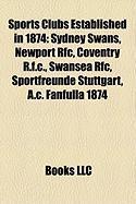 Sports Clubs Established in 1874: Sydney Swans