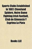Sports Clubs Established in 1887: Notre Dame Fighting Irish Football