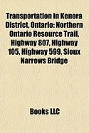 Transportation in Kenora District, Ontario: Northern Ontario Resource Trail