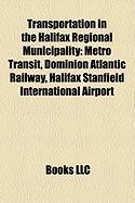 Transportation in the Halifax Regional Municipality: Metro Transit