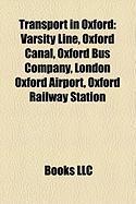 Transport in Oxford: Varsity Line